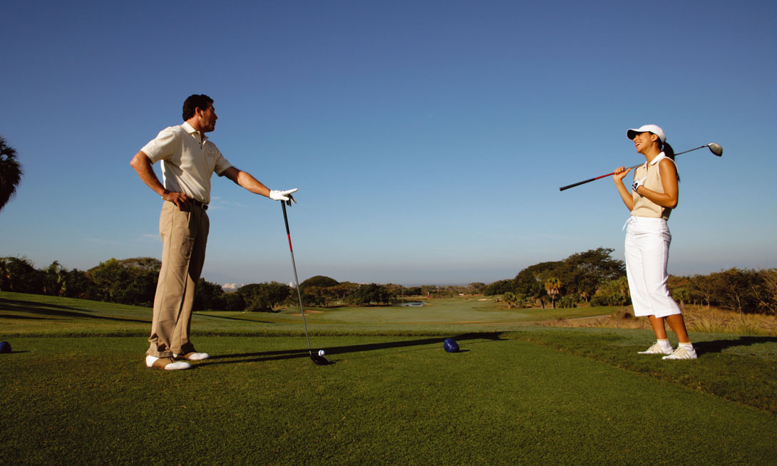 Golf in Grand Velas Riviera Maya - Mexico