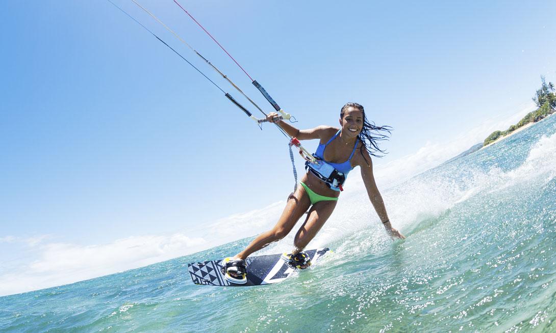 Kitesurfing at Grand Velas Riviera Maya - Playa del Carmen