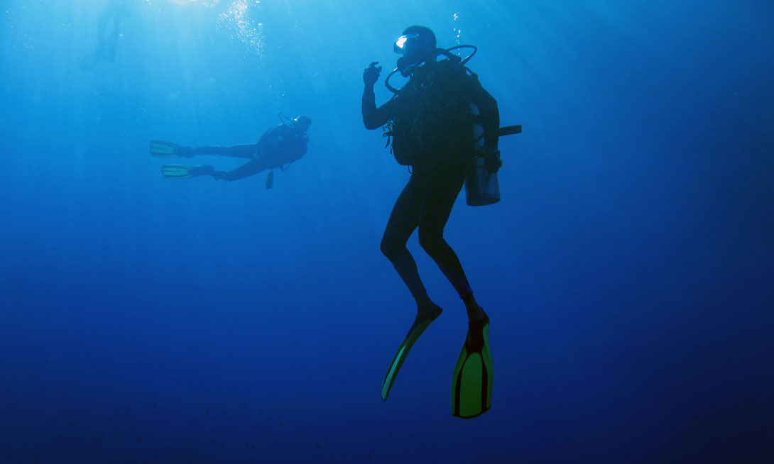 Scuba Diving at Grand Velas Riviera Maya - Mexico