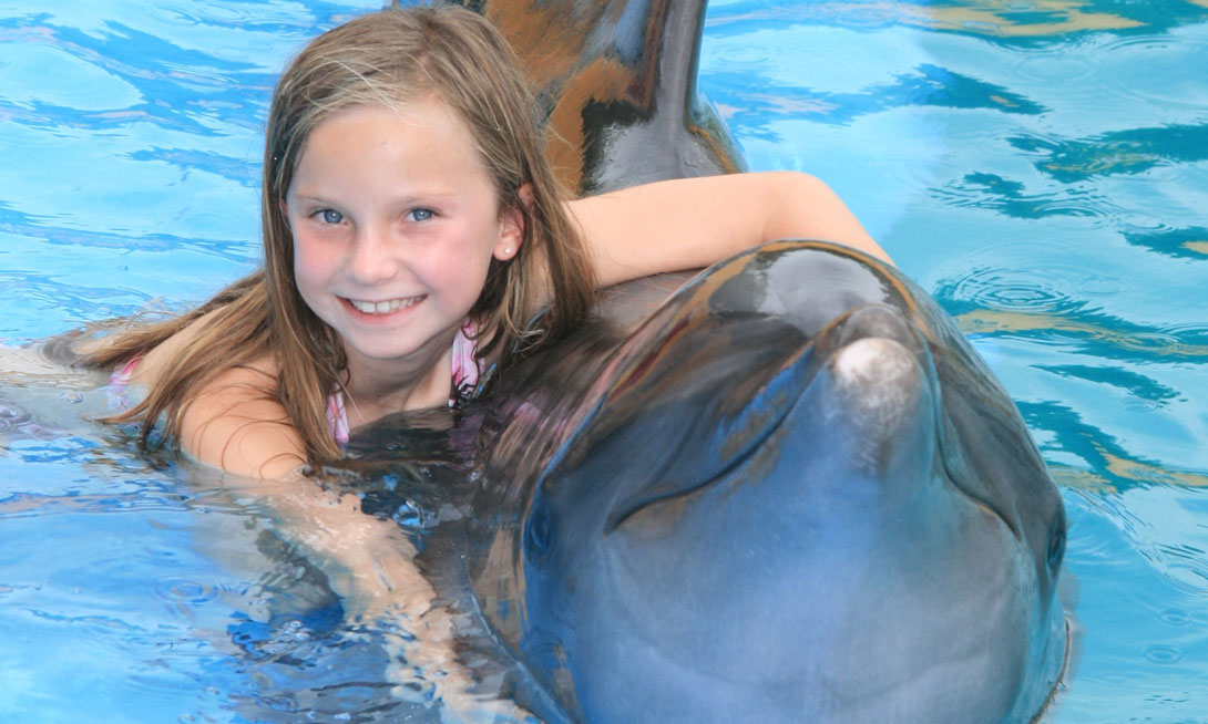Swim with Dolphins Grand Velas Riviera Maya - Mexico