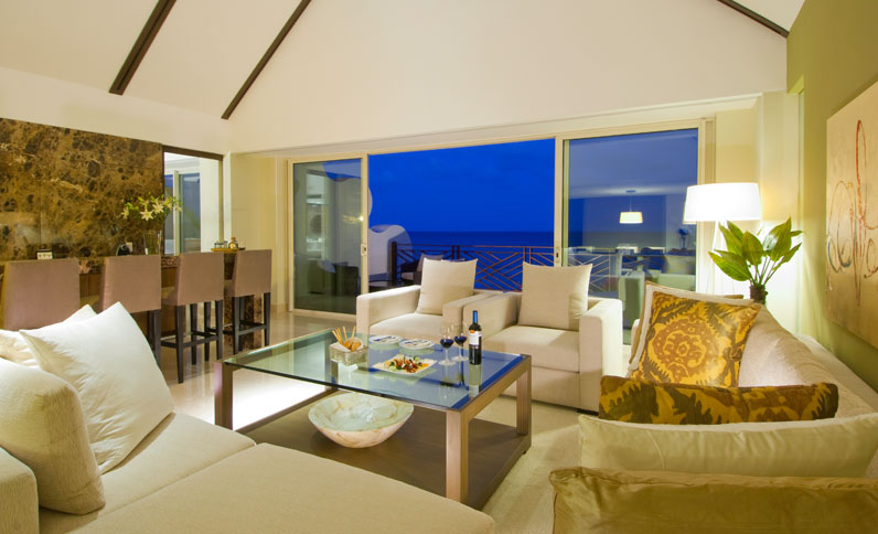 Living Area at Grand Class Presidential Suite