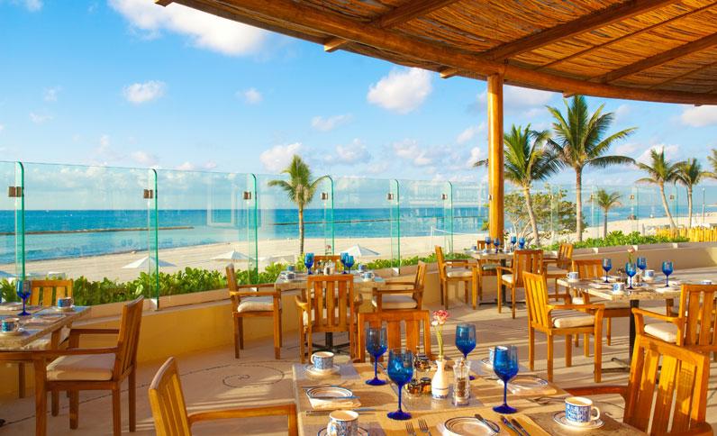 Azul restaurant at Grand Velas Riviera Maya