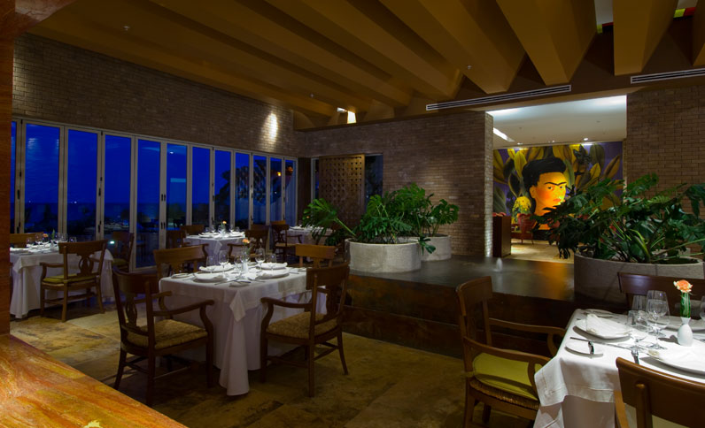 Frida Restaurant at Grand Velas Riviera Maya