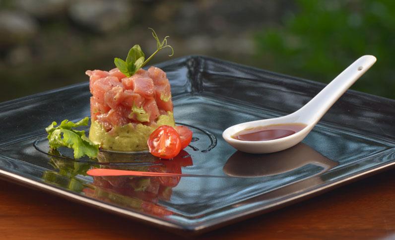 Tuna Tartar at Lucca