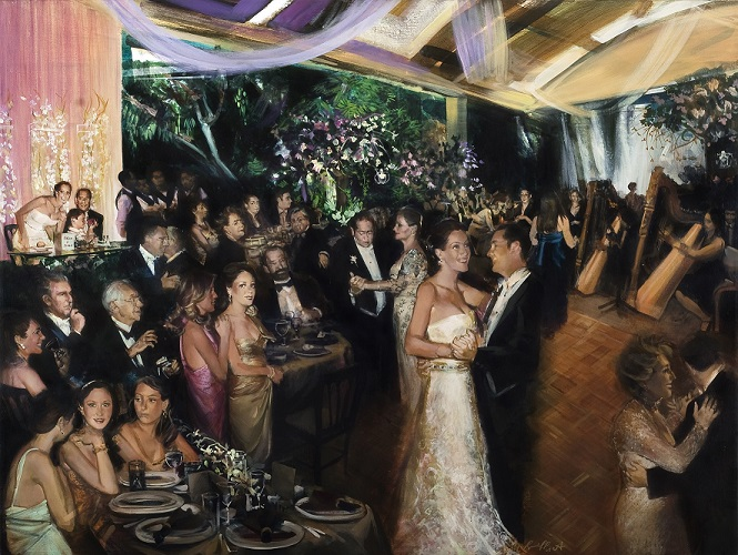 Couples Live Wedding Paintings