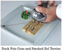 Duck Foie Gras and Smoked Eel Terrine