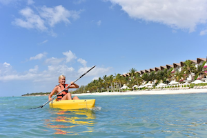 Kayaking in Grand Velas Riviera Maya