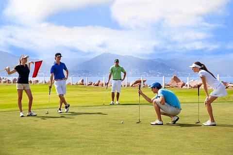 Marina Vallarta's 18-hole golf course